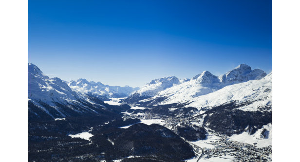 Winter tourism was invented in St. Moritz nearly 150 years ago- ©swiss-image.ch/Daniel Martinek