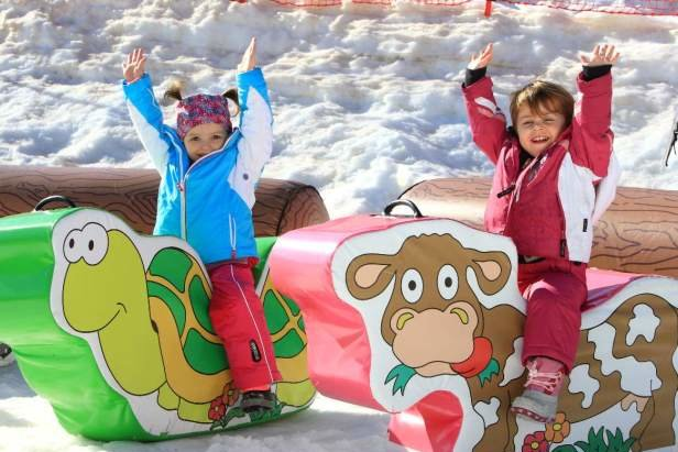 Montagna a misura di bambini: i parco giochi sulla nevi della Paganella- ©Trentino