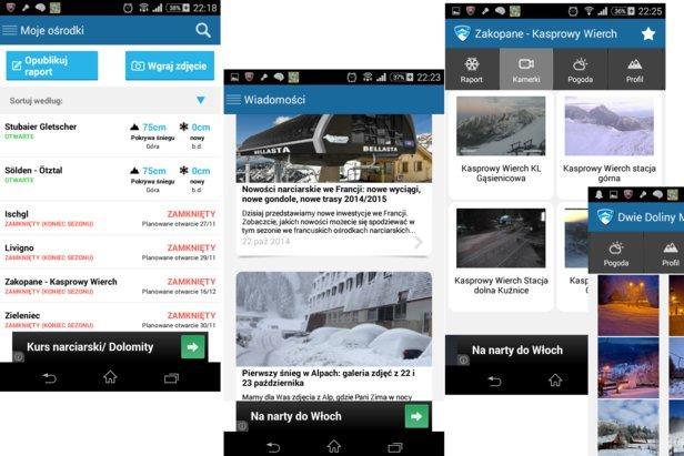 Nowa aplikacja Skiinfo, 2014