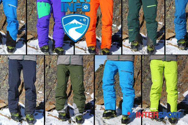 Devätoro lyžiarskych nohavíc v teste OnTheSnow ©Skiinfo