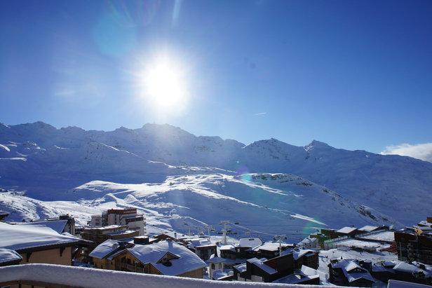 Schneebericht: Neuschneemassen bleiben aus, Saison kann aber vielerorts beginnen- ©OT Val Thorens