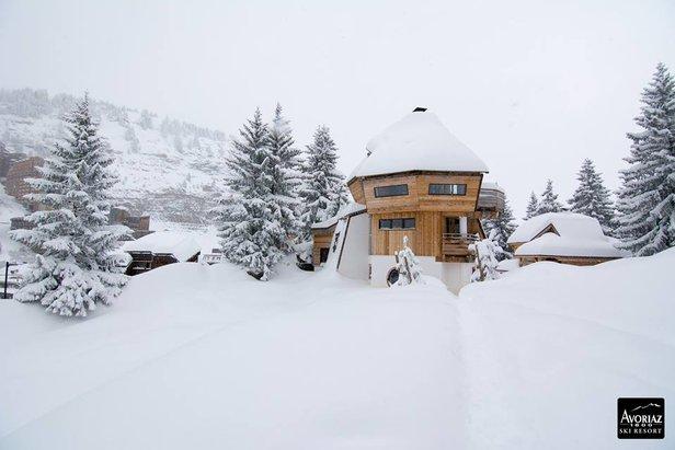 Snowiest Resort of the Week: mnóstwo śniegu spadło w świątecznym tygodniu ©Avoriaz