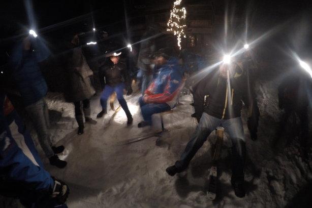 Crazy night ride - zjazd na skifoxie - Tatrzańska Łomnica  - © Marcin Bajda/Snowboardowe.pl