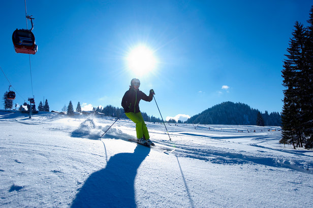 Wintersport in Oberstaufen