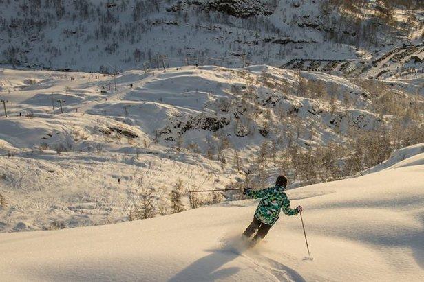 Det ble en god jul i Eikedalen, både besøksmessig og snømessig.