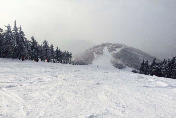 Dolní Morava - narty na Slamníku