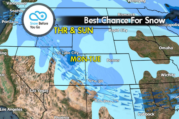 Snow Before You Go: Fast-Moving Storm En Route- ©Meteorologist Chris Tomer