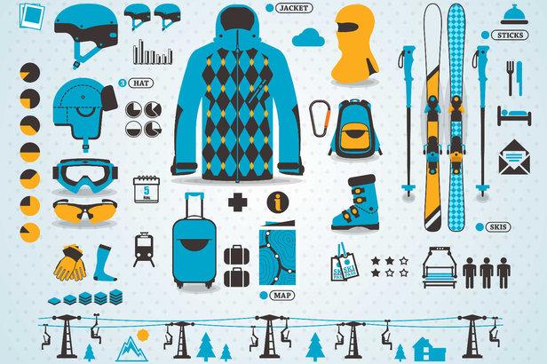 """Tenues de ski, accessoires, vêtements, bagagerie... C'est Noël après l'heure grace au jeu concours """"Skiinfo & Co"""""""