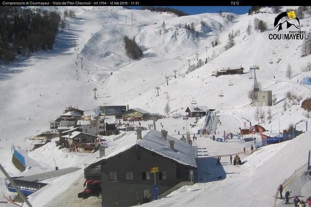 Snehové správy  Na horách v závere týždňa slnečno 5a9ff54d84b