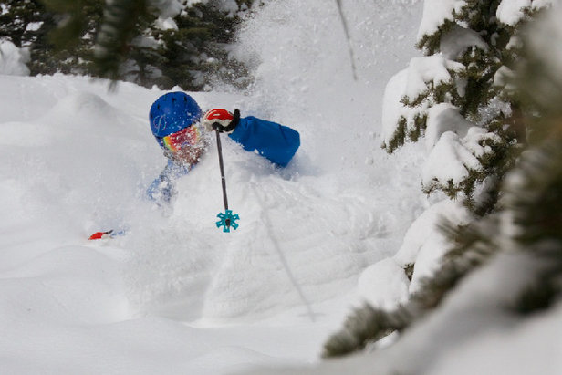 Deep powder at Aspen/Snowmass to ring in March.