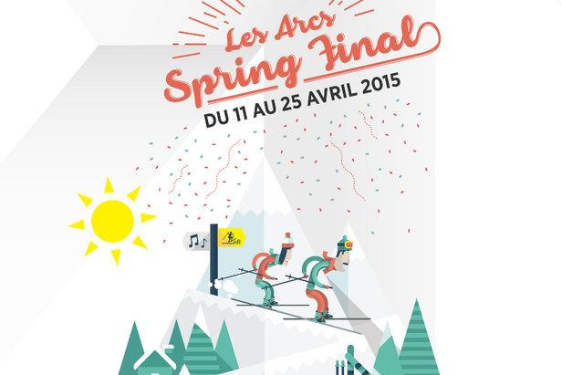 Arcs Spring Final : 2 semaines festives pour clôturer la saison