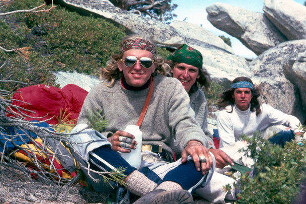 John Bachar, Mike Graham und Ron Kauk  am El Capitan (1976) - ©Mike Graham