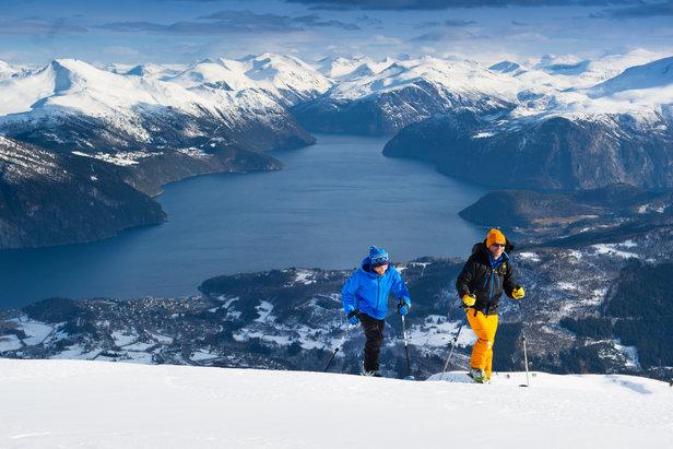 Roalden Opp! Ei motbakkeutfordring på ski frå 430-1230 moh- ©Ellen Beate Wollen