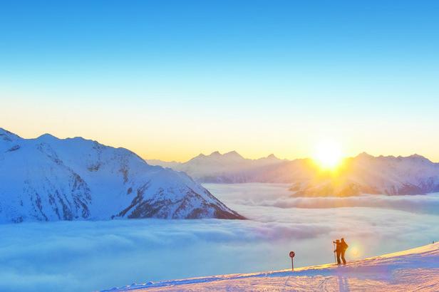 Hochzeiger, okolice trasy panoramicznej - tak to powinno wyglądać, my nie mieliśmy tyle szczęścia. - ©Albin Niederstrasser