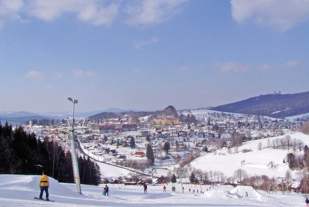Skiareál Kašperky
