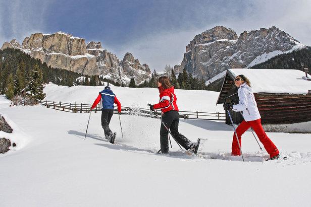 1 Escursioni con le ciaspole in Val di Fassa  - © Val di Fassa - R. Brunel