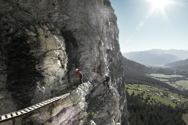 Klettersteig österreich : Vom einsteiger bis zum profi fünf klettersteige in deutschland