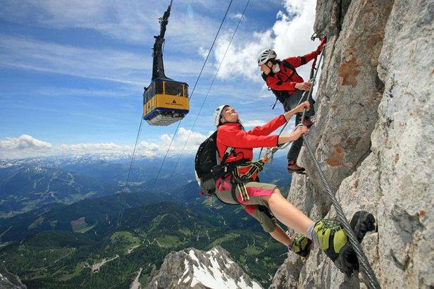 Klettersteig in Ramsau am Dachstein