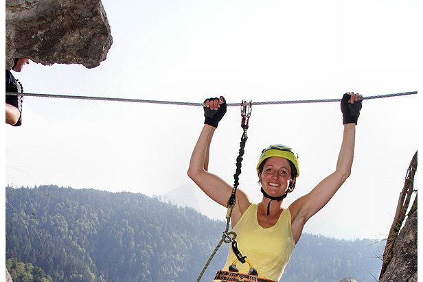 Klettersteigset Kind : Dav warnt klettersteigsets für kinder ungeeignet bergleben