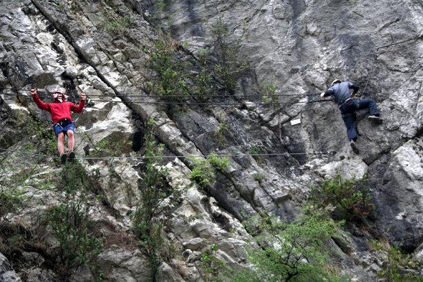 Klettersteig Hessen : Grundlagen gehtechnik klettertechnik im klettersteig bergleben
