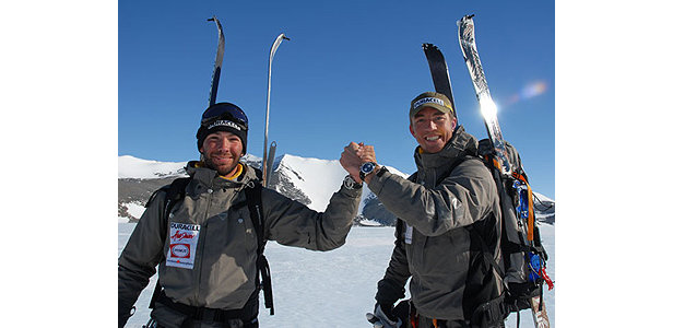 Olof Sundström and Martin Letzter become the first people ever to ski Carstensz Pyramid- ©www.se7ensummits.com