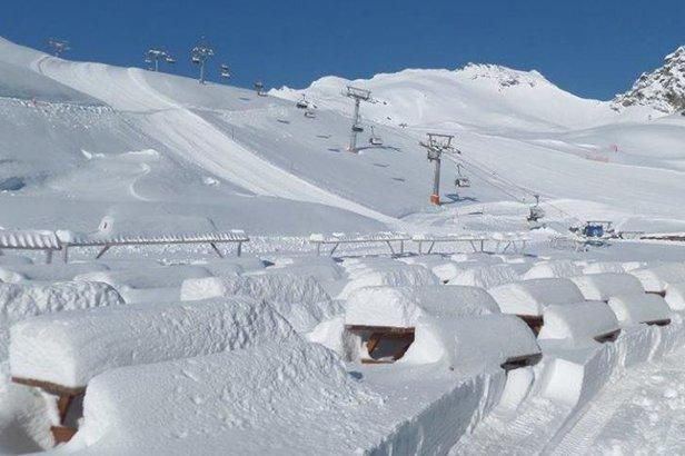 Raport śniegowy: do 40cm świeżego śniegu w Austrii, w Polsce i na Słowacji nadal można szusować- ©Kitzsteinhorn