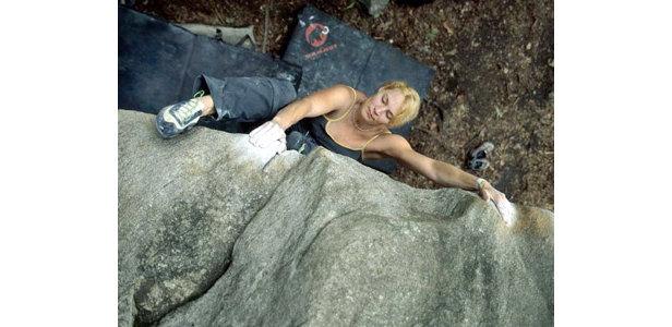 Kletter-WM 2005: Interview mit  Katrin Sedlmayer (06/2005)- ©www.alpenverein.de