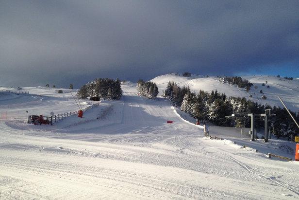 piste de ski Camurac