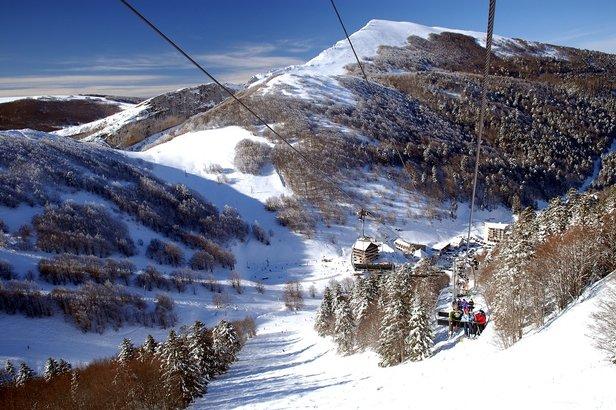 pistes de ski du Col de Rousset