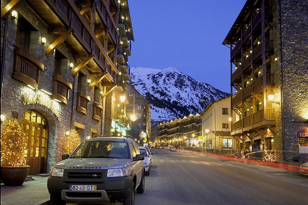 A view of the village in Grandvalira, Andorra  - © Grandvalira Tourism