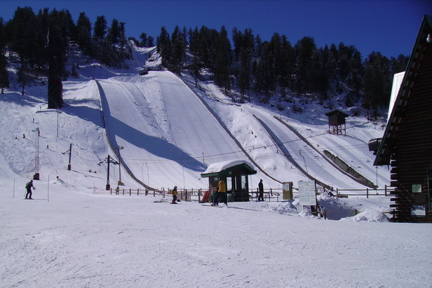 Howelsen Hill CO ski jumps