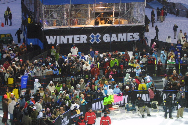 Guide to winter events in the Alps ©X Games