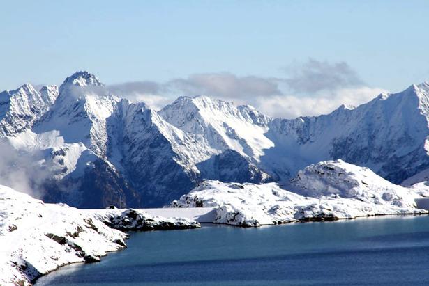 Blick auf den Mölltaler Gletscher