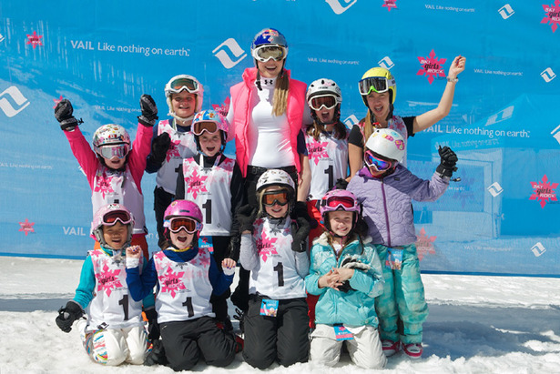 Ski Girls Rock Vail With Vonn
