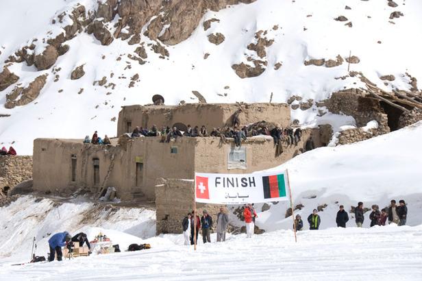 På ski i Afghanistan