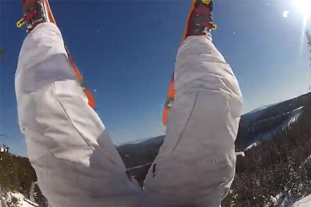 Cadute epiche sugli sci...