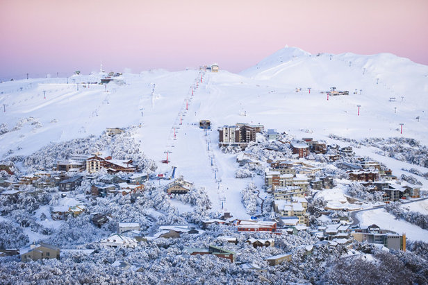 Best skiing in Australia & New Zealand ©Andrew Rail