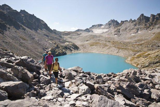 Túra 5 jezer v prázdninovém regionu Heidiland