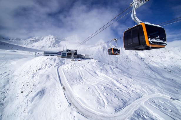 3S-Eisgratbahn, Stubaier Glacier