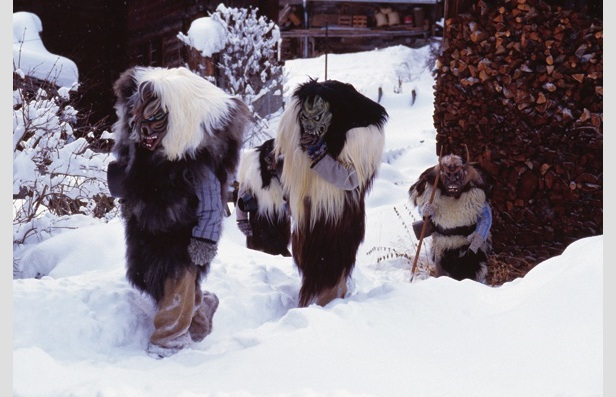 Ice Snow Football en 'Tschäggätta'