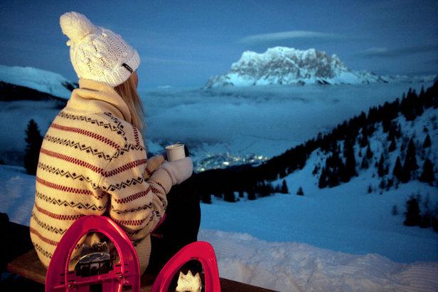 Schneeschuhwandern in Grubigstein