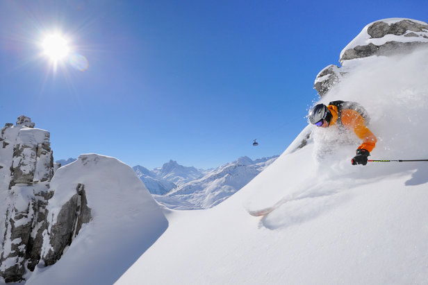 Freeride v Arlbergu  - © St. Anton | Josef Mallaun