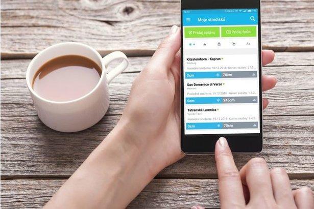 Aplikácia OnTheSnow do tvojho smartfónu  Nový dizajn na zimu 2016 2017   copy D.R. 1ac704586e0