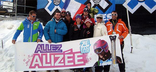 Alizée Baron aux X-Games