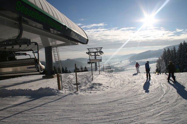 Erstes Skigebiet in Deutschland geöffnetSkigebiet Willingen
