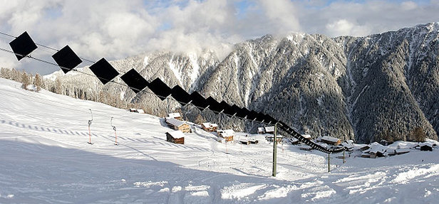 Le téléski solaire : un téléski d'un nouveau genre, alimenté par des panneaux photovoltaïques !