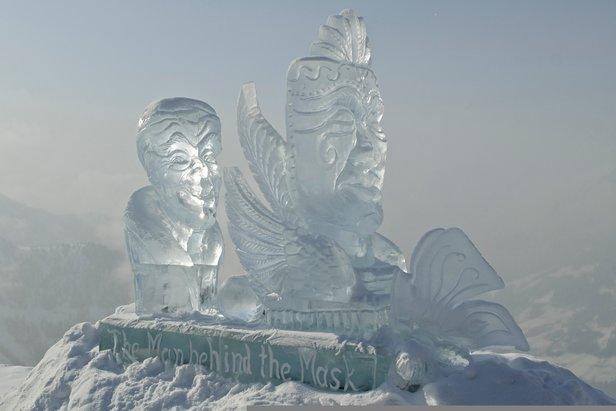 Eisskulptur am Gipfel des Fluseck  - © Gasteiner Tal Tourismus GmbH