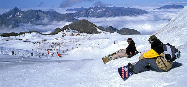 Ski été aux 2 Alpes