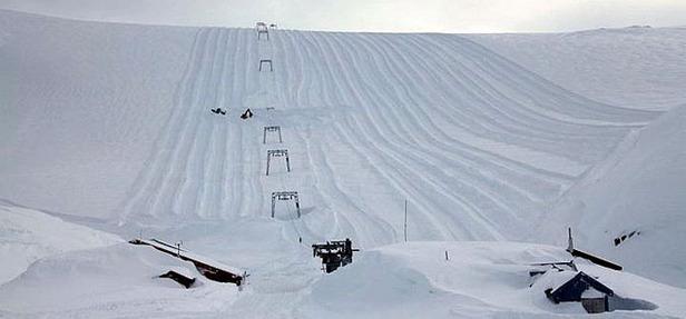 10 metres de neige