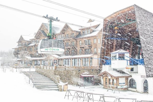 Snowiest Resort of the Week: 3.4-3.10 ©Jay Peak